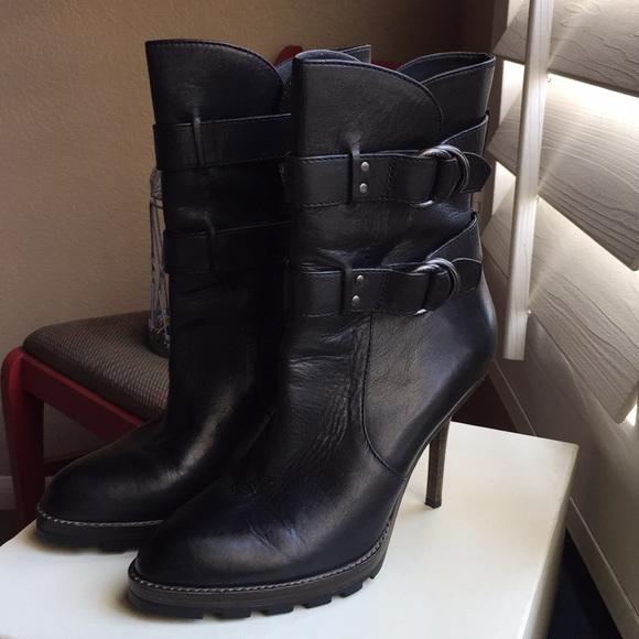 249649e7d5f63 Coach boots. Thelma Vintage. Black leather. Sz 8.5